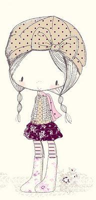 Cute girl print...