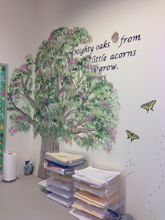Quotes classroom tree, classroom walls, first grade classroom, classroom de Classroom Tree, Diy Classroom Decorations, Classroom Walls, First Grade Classroom, Classroom Design, Classroom Ideas, Inspirational Quotes For Students, Forest Decor, English Fun