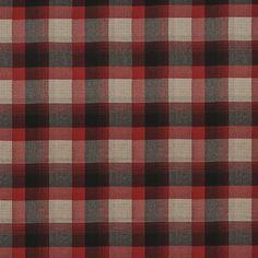 Market Street Plaid – Cardinal - Plaids & Checks - Fabric - Products - Ralph Lauren Home - RalphLaurenHome.com