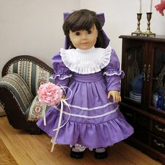 2013 DW Fashion Design Challenge: Entry click through to the website to see more detailed pictures! American Girl Doll Costumes, American Girl Doll Samantha, American Girl Clothes, American Girls, Girl Dolls, Dolls Dolls, Ag Doll Clothes, Girls Dresses, Doll Dresses