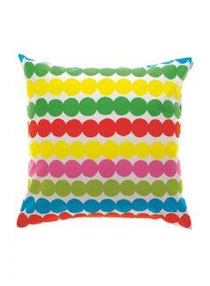 Räsymatto-tyynynpäällinen (valkoinen,monivärinen) |Sisustustuotteet, Olohuone, Sisustustyynyt ja tyynynpäälliset | Marimekko