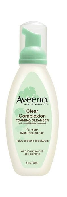 This gentle, hypoallergenic face wash includes salicylic acid to help clear acne and moisturizing soy extract for a more even skin tone.