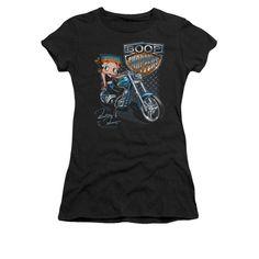 Betty Boop - Choppers Junior T-Shirt