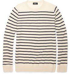 A.p.c. Breton Stripe Wool Sweater