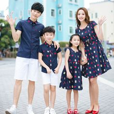 Summer Family Matching Outfits T Shirt+short For Father& Kids Son Costumes Mother Daughter Dresses Kid Clothing Set Mommy And Me Outfits, Couple Outfits, Matching Family Outfits, Chic Outfits, Boy Outfits, Stylish Dresses For Girls, Little Girl Dresses, Simple Dresses, Mother Daughter Fashion