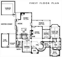 house plan 449 3 - House Plans With Gym