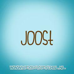Joost (Voor meer inspiratie, en unieke geboortekaartjes kijk op www.heyboyheygirl.nl)