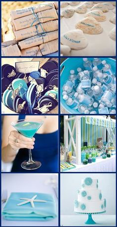 Summer Breeze Wedding Inspiration Board - All Things For All Parties