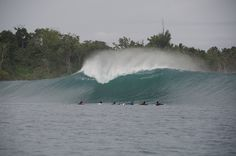 Waves just around the corner from #MacaronisResort #MentawaiIslands Get out here!!!