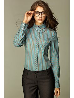 Turquoise Shirt, Glamour, Casual, Button Up, Long Sleeve Shirts, Vintage Outfits, Shirt Dress, My Style, Lifestyle