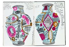 From treasured childhood notebooks to drawing with his daughter, Grayson Perry's sketchbooks are the place where the artist learns if an idea is 'a goer or a dud' Grayson Perry Art, Little Bo Peep, Artist Sketchbook, Sketchbook Drawings, Sketchbook Inspiration, Sketchbook Ideas, Journal Inspiration, Journal Ideas, Ceramics Projects