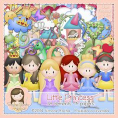 Kit Digital Little Princess By Simone Rocha