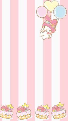 マイメロディ14 iPhone壁紙 Wallpaper Backgrounds iPhone6/6S and Plus  My Melody iPhone Wallpaper