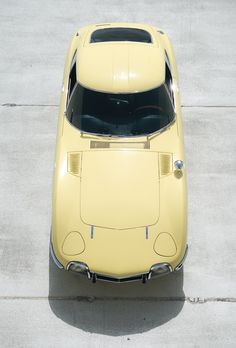1968 Toyota 2000GT; always wanted one of these cars