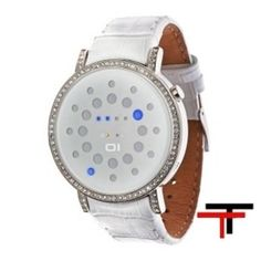 Reloj Led The One Odin's Rage Blanco Swarovski   http://www.tutunca.es/reloj-led-the-one-odin-s-rage-blanco-swarovski