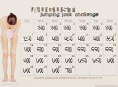 jumping jack challenge