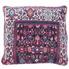 Royal Shiva Dog Duvet--made from repurposed Persian rugs