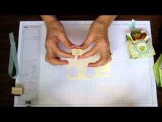 Tea Bag Holder: MUST make! Great tutorial by Brenda Keenan * - treat pouch Good Tutorials, Craft Tutorials, Tea Holder, Bag Holders, Ideas Para Organizar, Scrapbooking, Envelope Punch Board, Stampin Up, Fancy Fold Cards