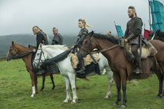 Vikings – S5E8 – The Joke Halfdan, Bjorn, Largetha, and Ubbe