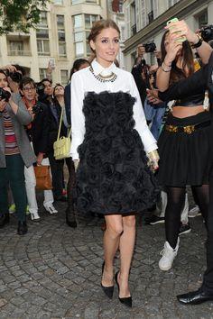 THE OLIVIA PALERMO LOOKBOOK: Olivia Palermo at Valentino Valentino Haute Couture Fall 2013