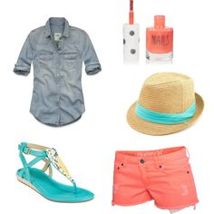 Vacation Outfit 4.  I need a fedora...