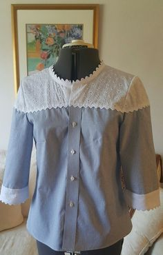 Refashioned man's shirt
