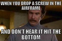 Uh . . . Now what? #aviationhumor #aircraftmechanic #mechanichumor #nowwhat #mechanicstruggles