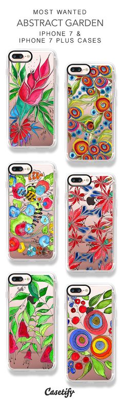 Most Wanted Abstract Garden iPhone 7 Cases & iPhone 7 Plus Cases here > https://www.casetify.com/gosiaandhelena/collection