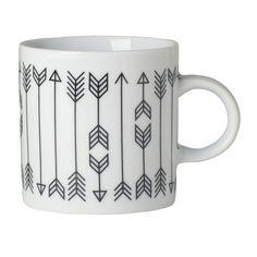 Arrow Short Mugs