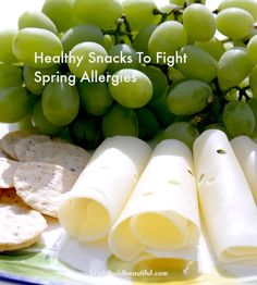 Healthy Snacks To Fight Spring Allergies