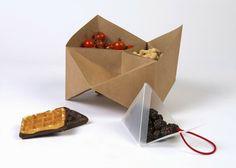 Altered Appliances: Rodillos para estampar pizzas, platos comestibles, vajillas biodegradables,...