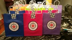 Laser Tag Party - Glow In The Dark - Favor Bags