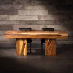 Discover Artemano's tables made of suar. You will find whatever you need to help create your interior design dreams! Dining Room, Dining Table, Log Homes, Decoration, Cool Kitchens, Sweet Home, Room Ideas, House, Furniture