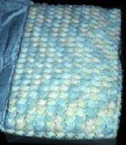 Project Linus. Pastel Shells Afghan Pattern