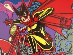 BAT - BLOG : BATMAN TOYS and COLLECTIBLES: New BATMAN POP ART - Artwork Inspired by the DC Comics Universe!