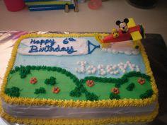 Flying Mickey cake