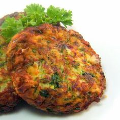 Zucchini fritters---a bit time-consuming to prepare, but definitely worth it, says food writer Mary.