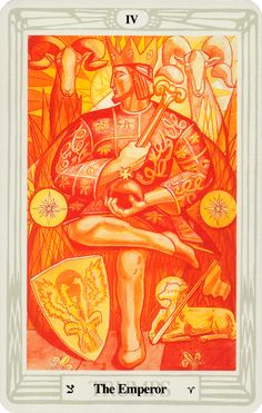 The Thoth Deck by Aleister Crowley