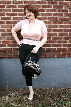 Va-Voom Vintage Miss Sassy Pants featuring Sourpuss Clothing and Hannah Jane #retro #1950s #leopard #vintage #pinup