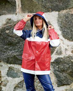 Pvc Raincoat, Yellow Raincoat, Rain Wear, Playsuit, Rain Jacket, Windbreaker, Suits, Woman, Lady