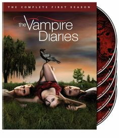 The Vampire Diaries: The Complete First Season DVD ~