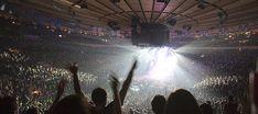 The Madison Square Garden !   Go Knicks !!!