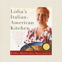 Lidia Bastianich  Cookbook - Italian American Kitchen at CookbookVillage.com