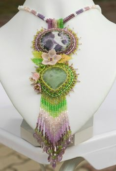 Beautiful Eye Candy from Elena Gladneva featured in Bead-Patterns.com Newsletter!