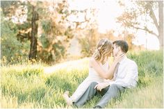 Mary + CJ's Flower Field Engagement Session at Bonelli Park » Brittanee Taylor Photography