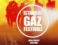 İSTANBUL GAZ FESTİVALİ by SÜLEYMAN KARAÇEŞME, via Behance