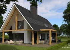 Home Building Design, Building A House, Style At Home, 30x40 House Plans, Build Your Own House, Cottage Plan, Shed Homes, House Extensions, Home Plans