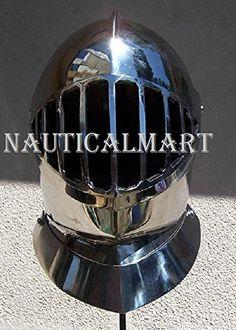 NauticalMart Plate Armour Barred Close Helm NAUTICALMART https://www.amazon.com/dp/B0798QHCQP/ref=cm_sw_r_pi_dp_U_x_6gmAAbYT7FC7M