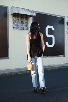 COLD SHOULDER — ANDY HEART #andyheart #ootd #outfit #look #minimal #whatiwore
