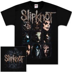 Slipknot Splatter Frame T-Shirt